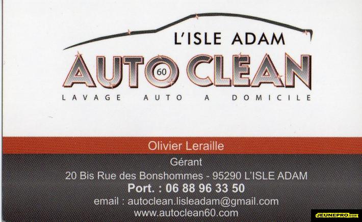 Auto Clean Lavage A Domicile